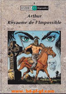 Histoires et Légendes, Arthur au Royaume de l'impossible par Delaby et Duval, 1991