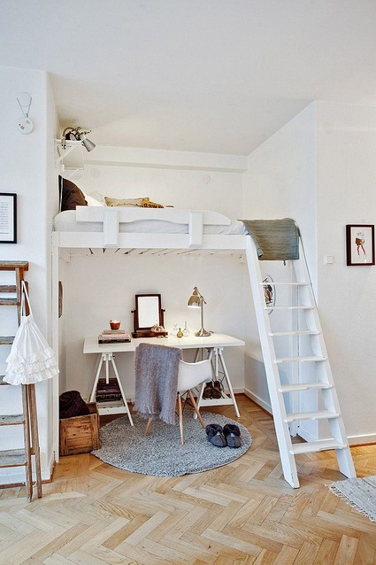 Ideas for decorating loft floors 4