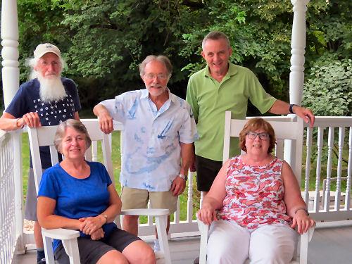 group photo at reunion