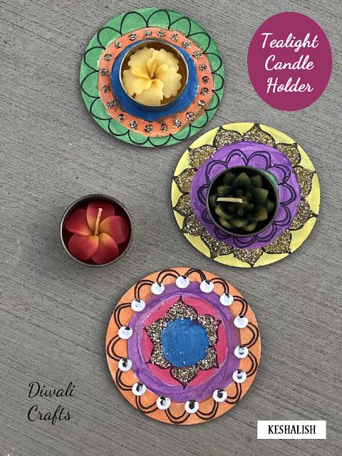 diwali-diya-tealight-candle-holder-craft