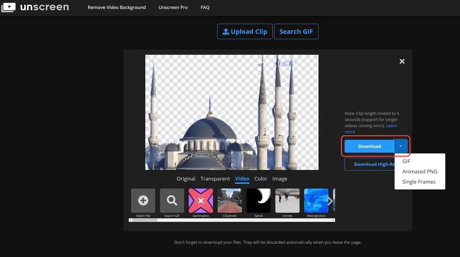 كيفية إزالة أو تغيير خلفية الفيديو باستخدام هذا الموقع