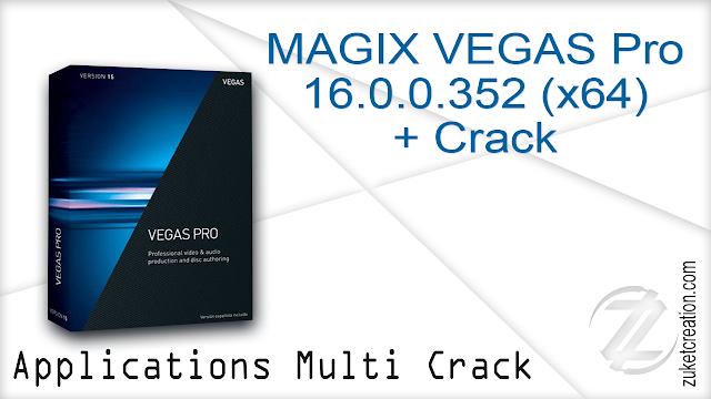 MAGIX VEGAS Pro 16 0 0 352 (x64) + Crack -