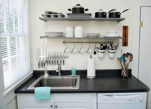 Rak Piring Minimalis Modern untuk dapur minimalis