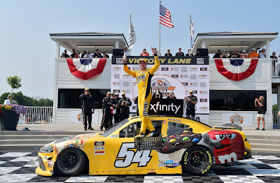 Kyle Busch Rallies from Pair of Detours for Xfinity Series win at Road America