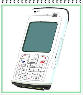Tlačítkový mobilní telefon