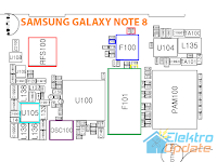 Schematic Samsung Galaxy Note 8 GT-N5100