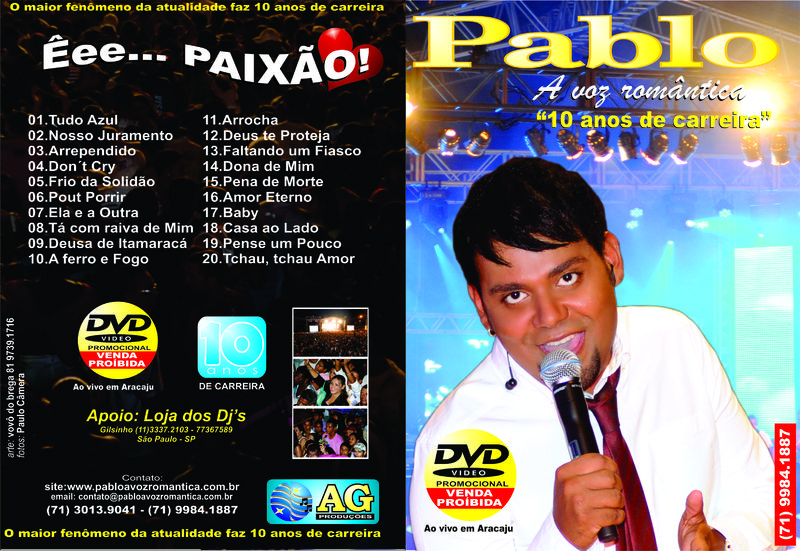 DE DO VIVO PABLO BAIXAR AO CD ARROCHA 2012