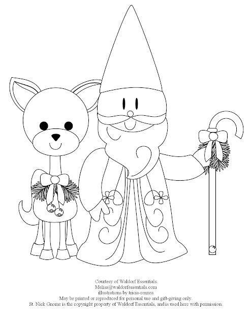 Free coloring pages of waldorf