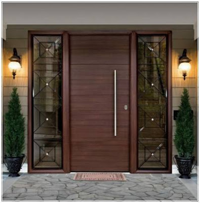 model daun pintu utama modern