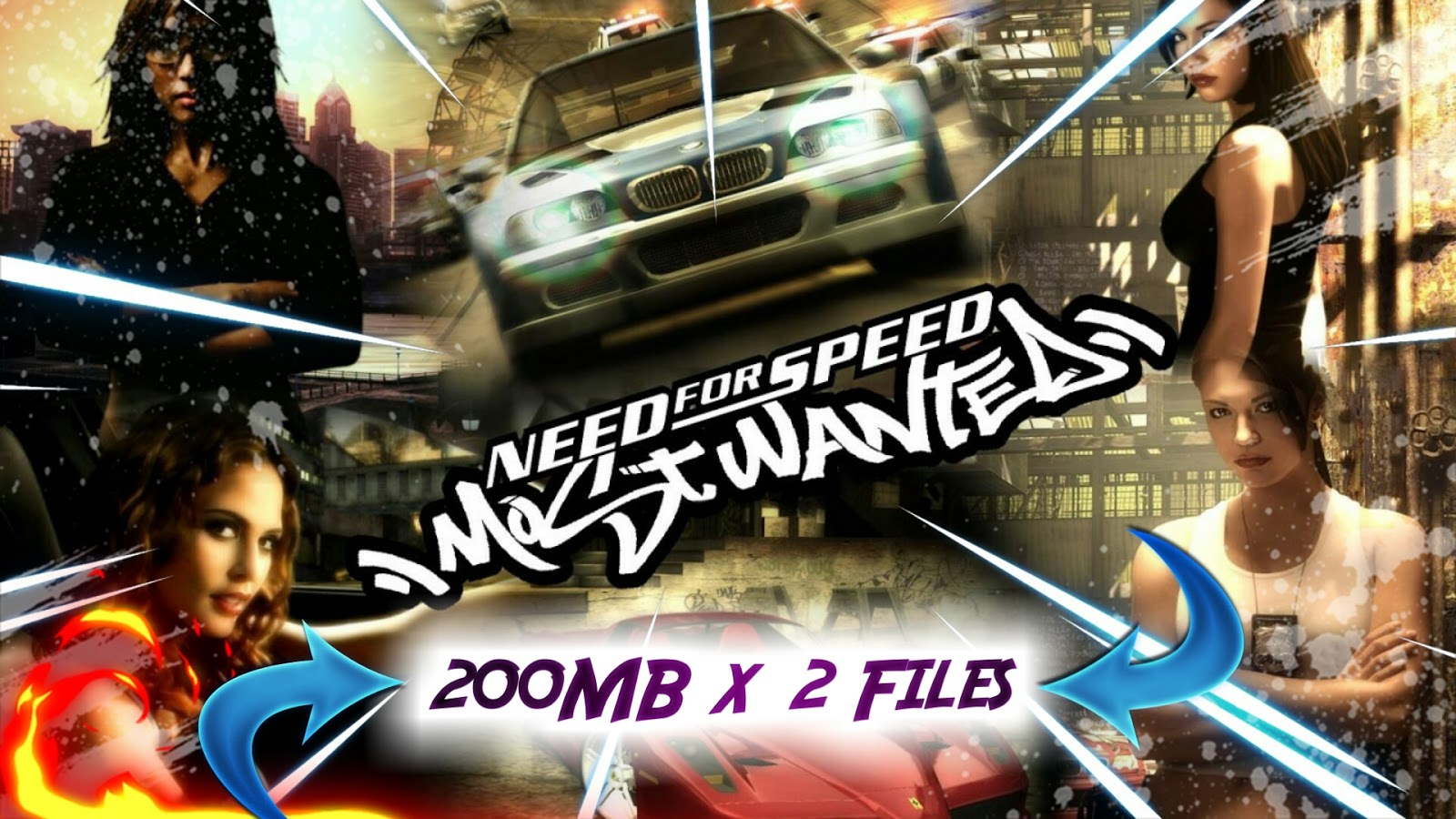 [353MB] Need for Speed Most Wanted 2005 Game for PC Free ...