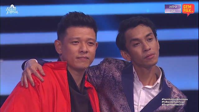 2 Juara, Naqiu Dan Hady Mirza Dipilih Sebagai Juara Gegarvaganza Musim Ke-6 2019