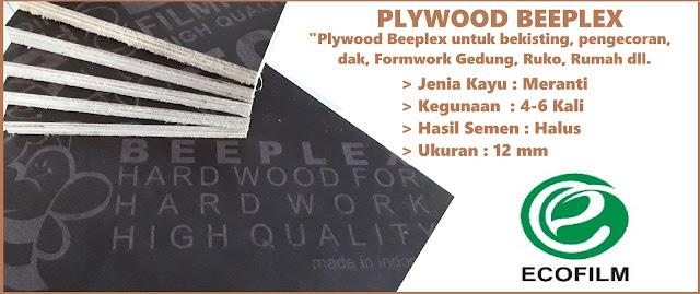 Jual Material Bangunan Plywood FilmFace Terbaik Di Indonesia