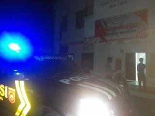 Polsek Maiwa Polres Enrekang Rutin Laksanakan Patroli Blue Light untuk mencegah gangguan Kamtibmas