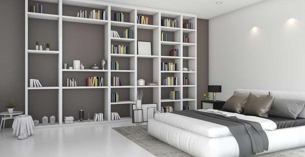 Dit is waarom je een boekenkast in de slaapkamer wilt x