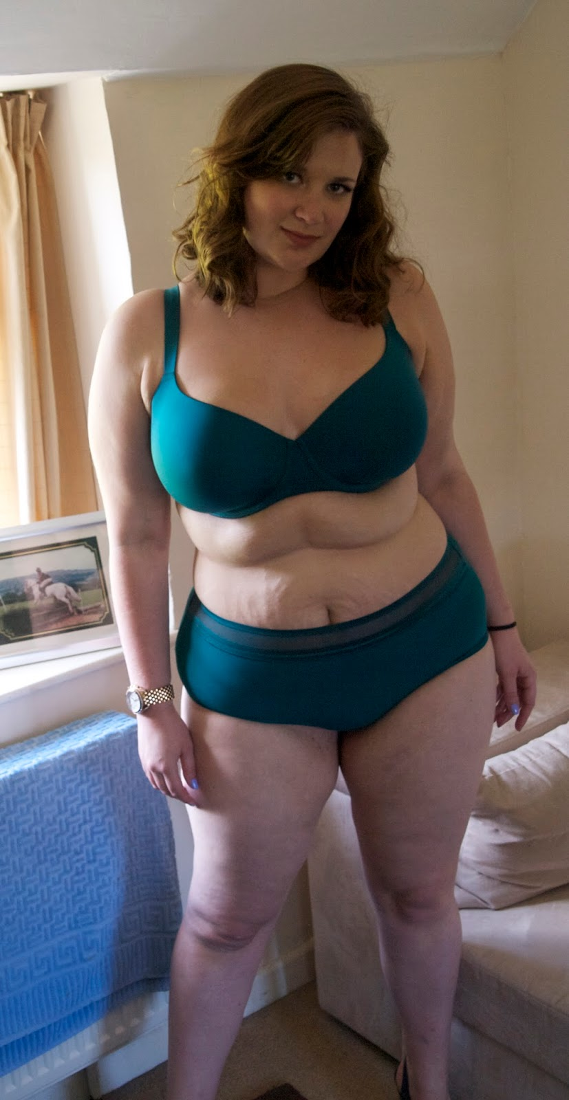girl panties Curvy wearing