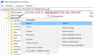 Registro di Windows - EdgeUpdate