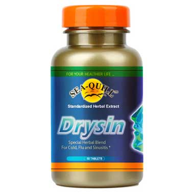 Suplemen Gangguan Saluran Pernapasan dengan Sea Quill Drysin