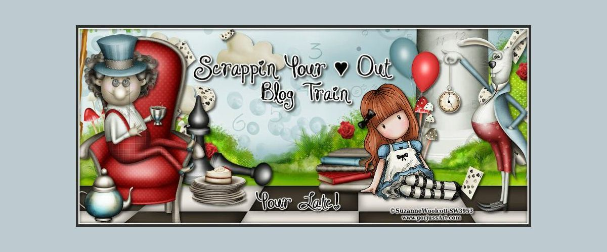 Scrappin' Your ♥ Out Blog Train