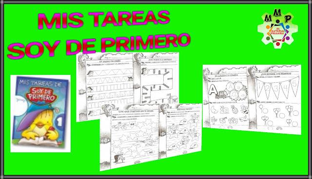 MIS TAREAS DE: SOY DE PRIMERO - 1°