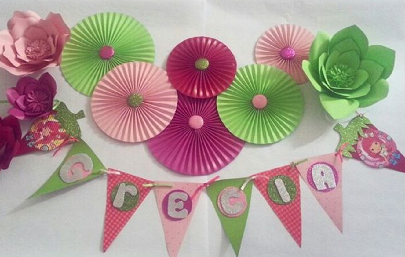 Ideas para decorar con rosetones de papel 101 - Manualidades de papel para decorar ...