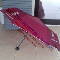 Payung lipat 3 / payung lipat tiga Polos
