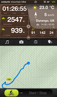 Runtastic Mountain Bike PRO GPS Cycling Computer vers 2.0.1