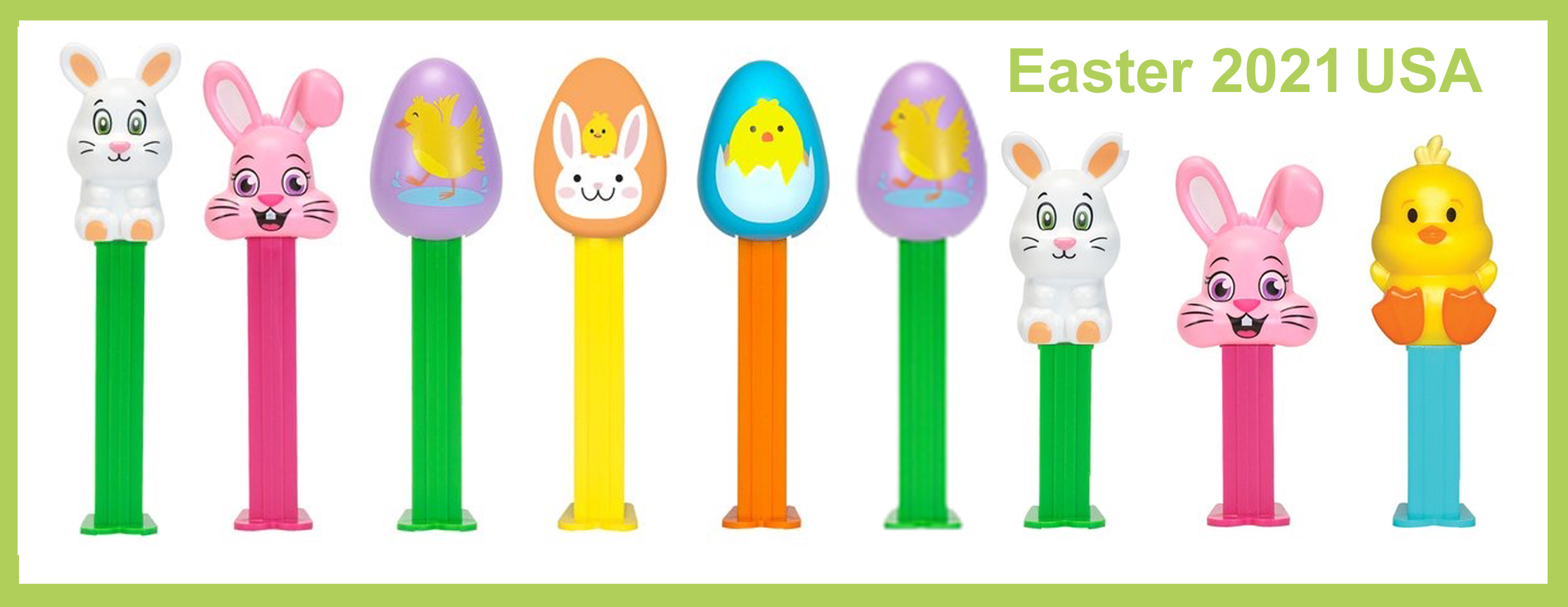 Easter 2021 Pez