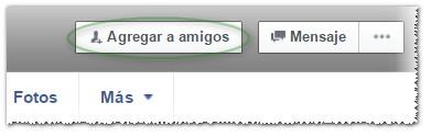 Botón agregar amigos Facebook - MasFB