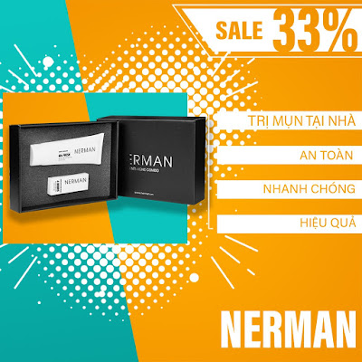 Kem trị mụn Nerman giá bán chính thức là bao nhiều tiền một hộp