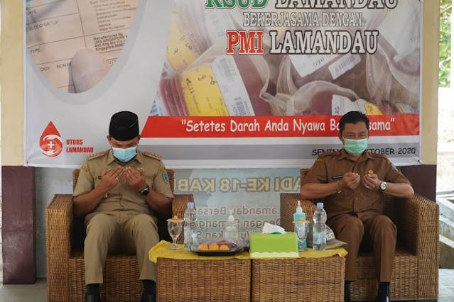 Hendra Lesmana dan Riko Porwanto Resmikan Unit Transfusi Darah RSUD Lamandau.lelemuku.com.jpg