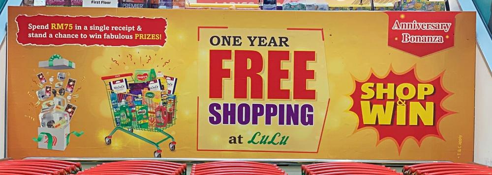 Lulu Hypermarket, Lulu Hypermarket KL, Lulu Hypermarket Shamelin, Rawlins GLAM, Rawlins Shops, Rawlins Lifestyle, Anniversary Bonanza, #LuluShopandWin, #LULUMALAYSIAWORLDFOOD2020, Bonanza