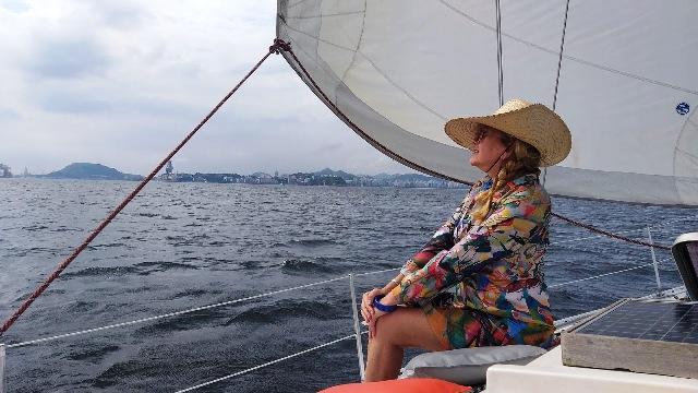 Adorei velejar, experiência única. Obrigada Sail in Rio