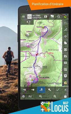 Télécharger Locus Map PRO