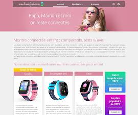 une du site internet montre enfant.com