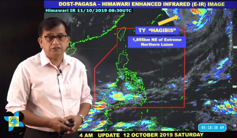 DOST-PAGASA Weather Specialist Meno Mendoza