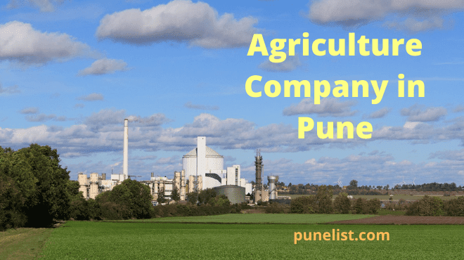 Agriculture Company in Pune