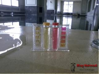 Mengukur Kandungan PH Air Kolam Renang