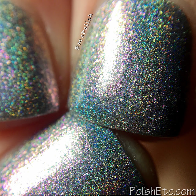 Road to Polish Con - Week 10 - McPolish - Tip-Toe on the Tightrope by Blush Lacquer