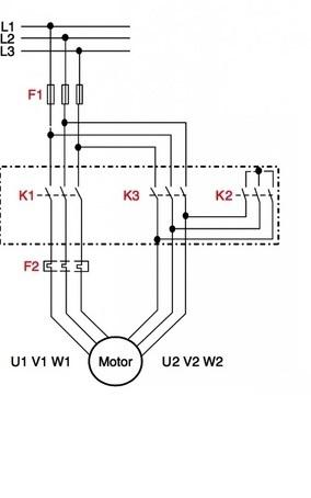 Star Delta Starter - (Y-Δ) Power & Control Wiring
