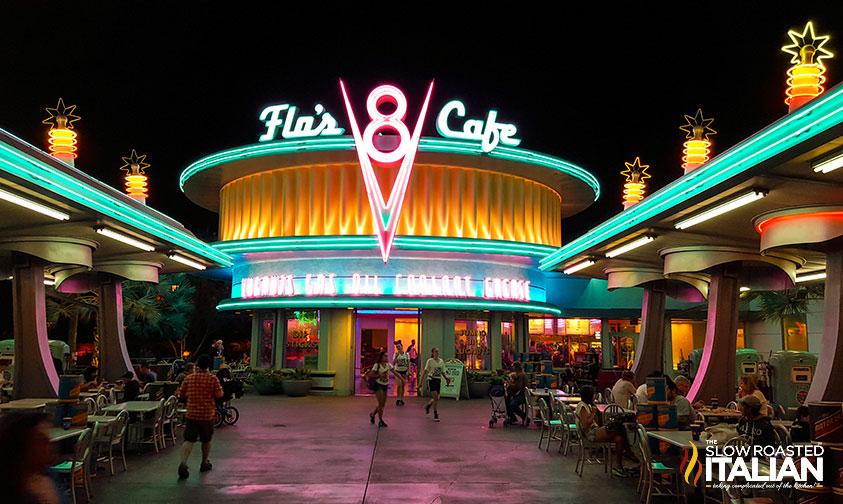 California Adventure Restaurants - Cars Land Disneyland