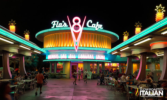 Flo's V8 Cafe Cars Land Dining Guide California Adventure