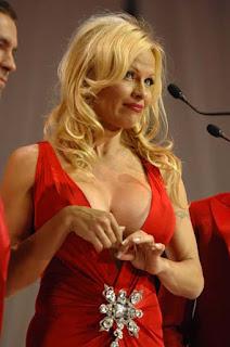 Pamela Anderson Exposing Her Assets