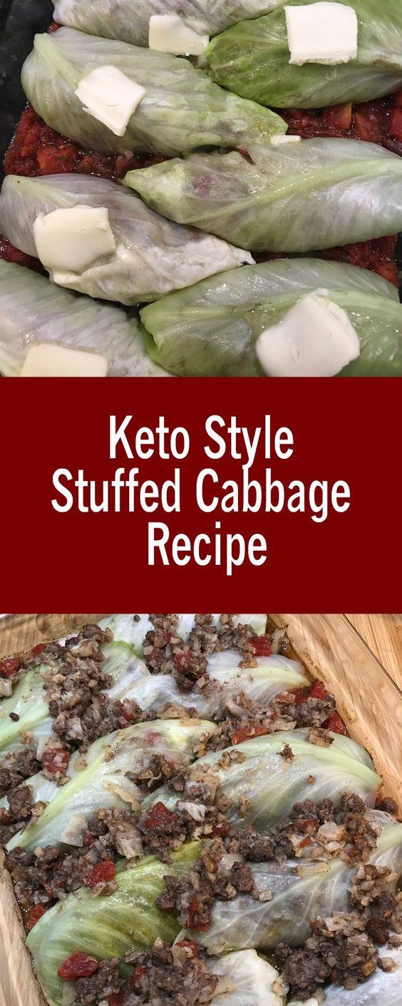 Keto Style Stuffed Cabbage Recipe