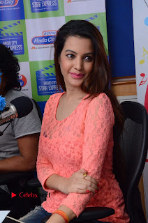 Deeksha Panth Pictures in Ripped Jeans at Radio City 91.1 FM