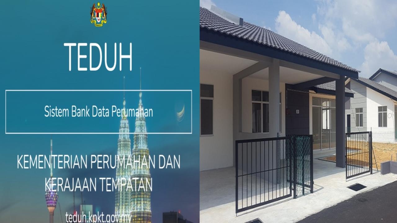Permohonan Rumah Mampu Milik 2021 Online Untuk Golongan B40 (TEDUH)