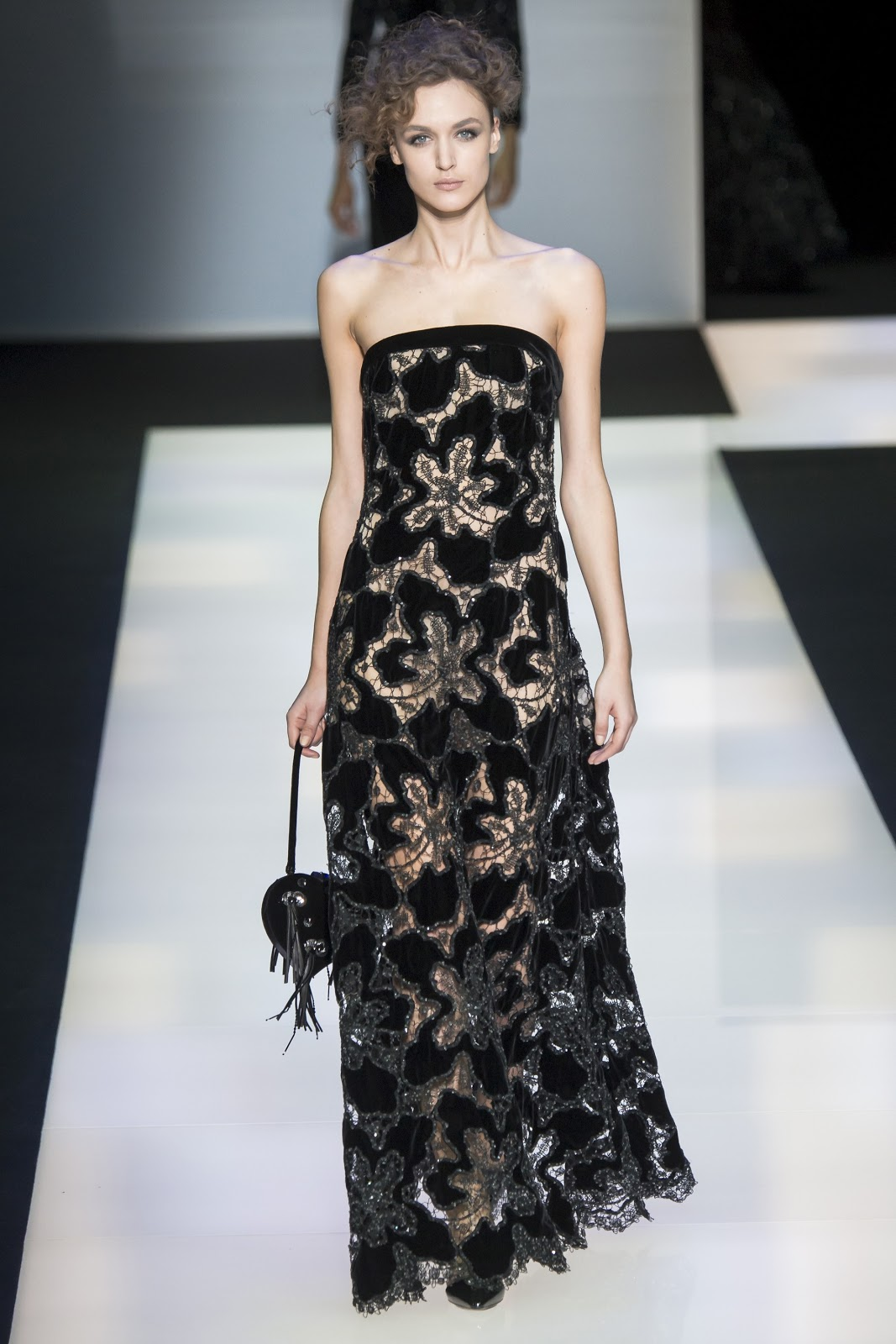 Fashion Runway | \'Black Velvet\', the new Giorgio Armani Women\'s Fall ...