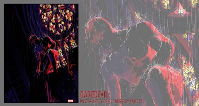 Marvel's Daredevil Screen Print by Raid71 x Grey Matter Art