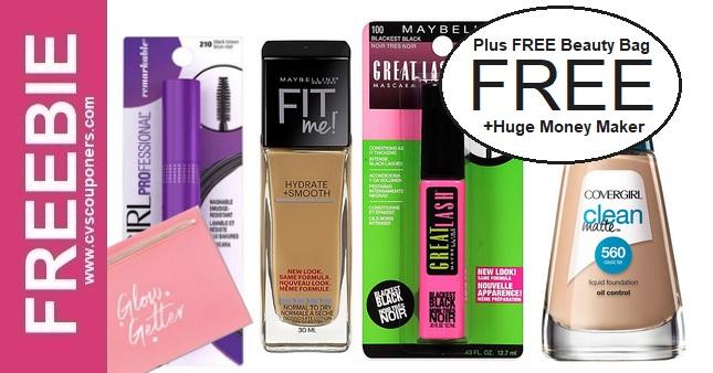 Free Makeup Bag Deals at CVS 8-16-8-22