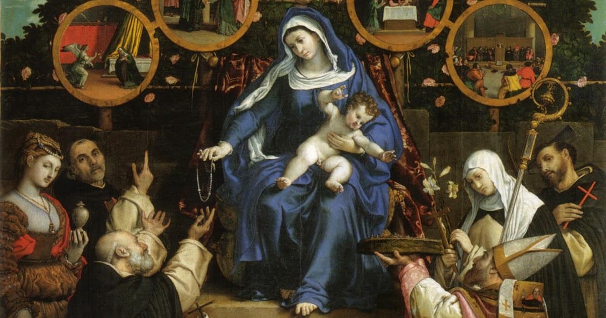 Festas Marianas Do Mês De Outubro Nossa Senhora Do: Thesaurus Precum: Novena A Nossa Senhora Do Rosário