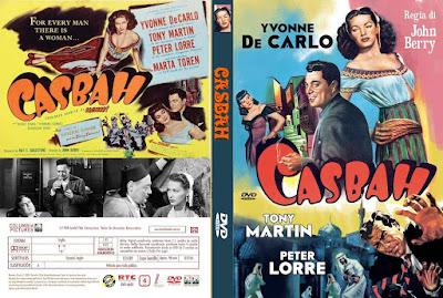 Carátula dvd: Casbah (1948)